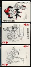 Collectible playing cards Cheer-up 52 nursing cartoons